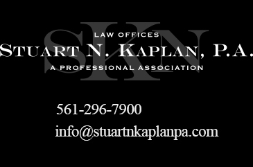 Stuart N  Kaplan, P A  Auto Accident, Personal Injury, Palm